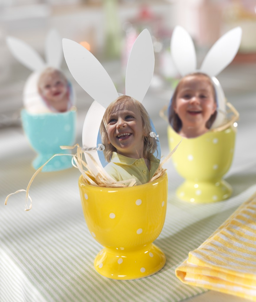 Velikonočna jajca z lastno fotografijo