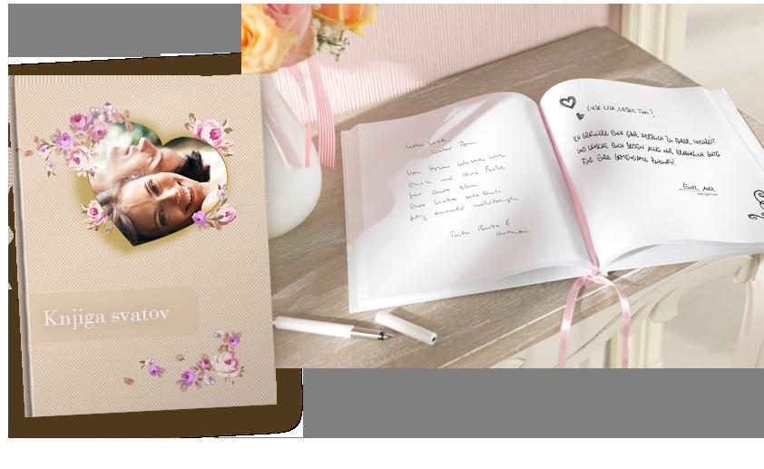CEWE notesnik kot knjiga svatov