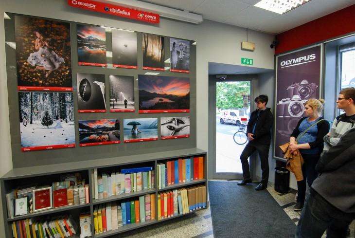 Odprtje fotografske razstave (2)