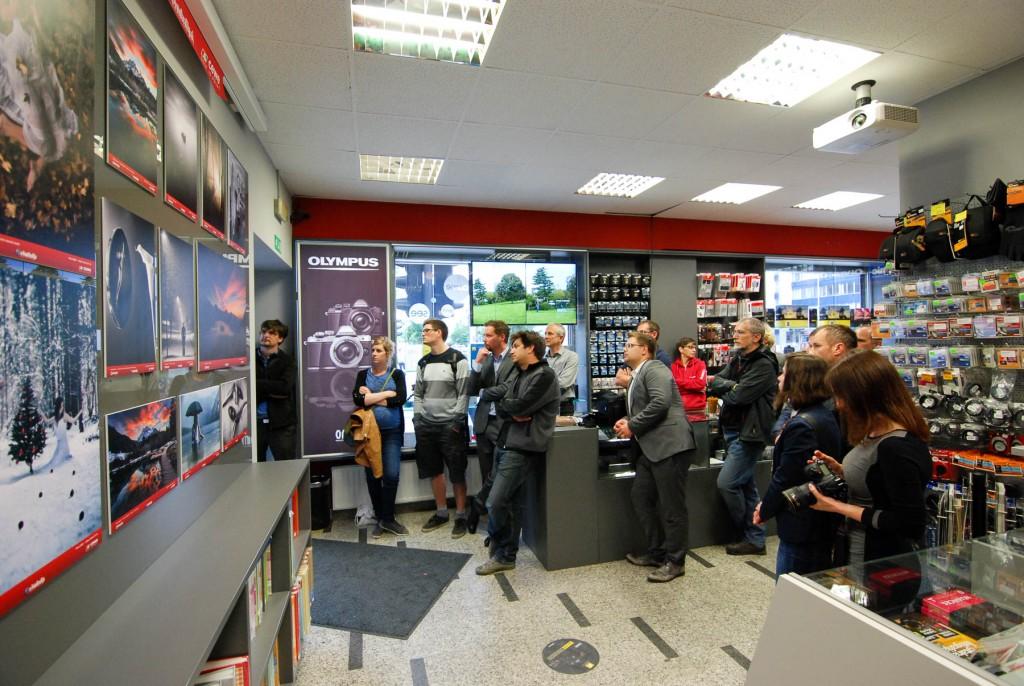 Odprtje fotografske razstave (3)