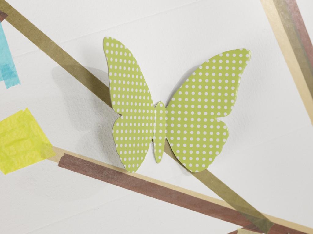Okrasek v obliki metuljčka