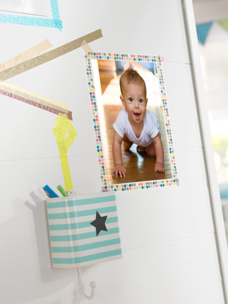 Otroške fotografije kot okras v sobi