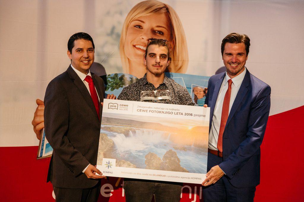 zmagovalec natečaja in podelitev nagrade