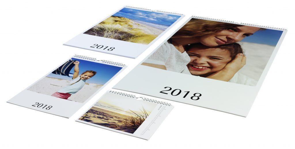 različni formati koledarjev s fotografijami