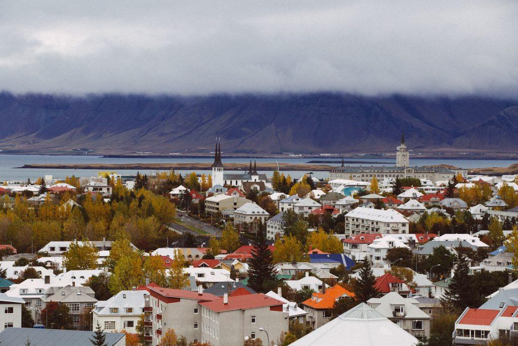 Reykjavik z razgledne točke