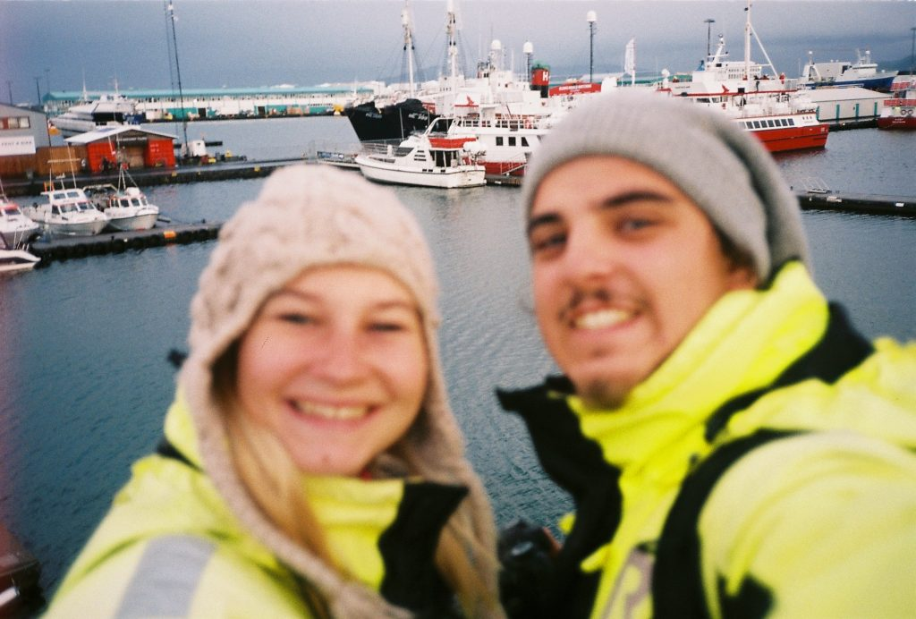 selfie na Islandiji