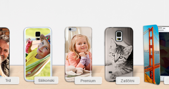 Ovitki za telefone in tablice z lastno fotografijo