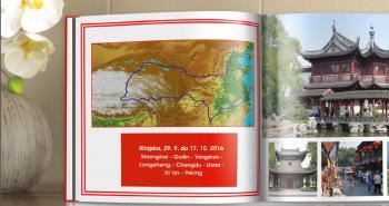 Zemljevid v CEWE FOTOKNJIGI