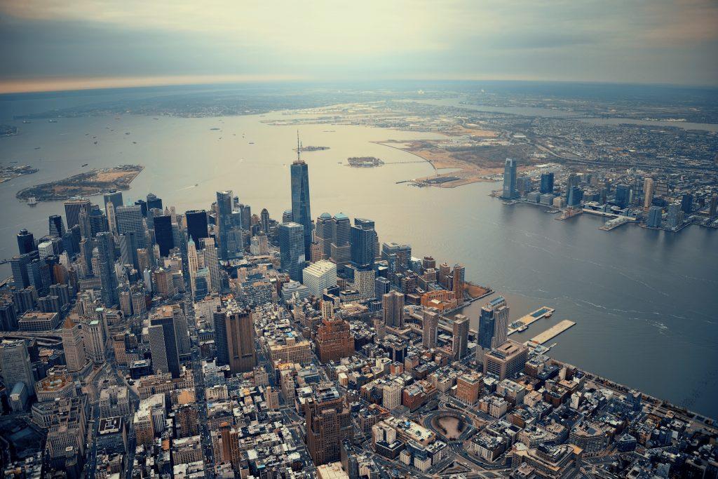 New York - pogled z neba