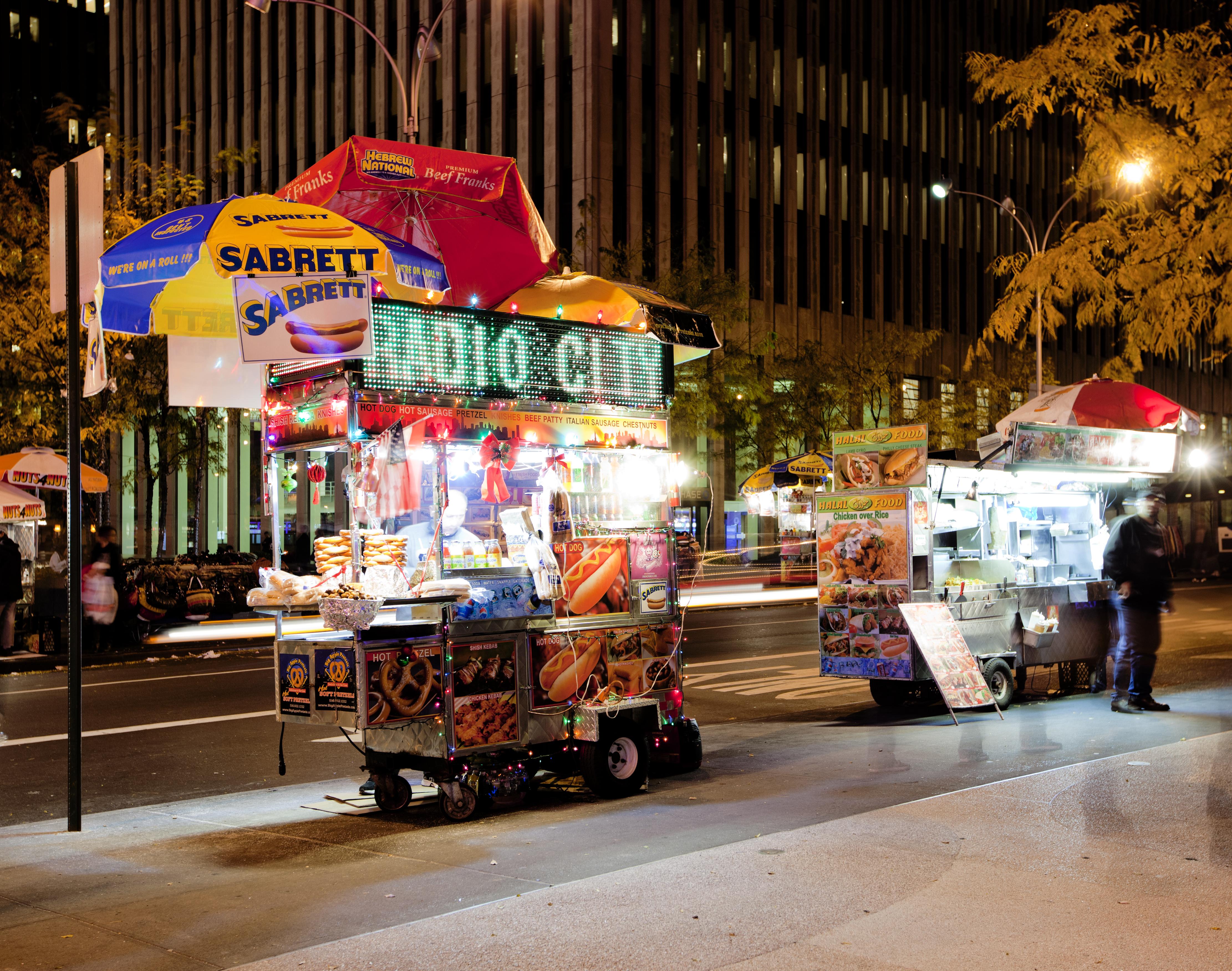 NY - hot dog