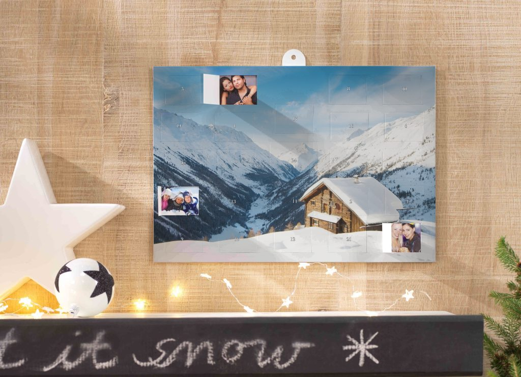 Adventni koledar s fotografijami