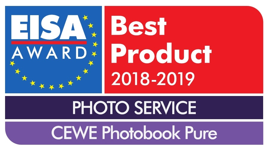 EISA nagrada za CEWE FOTOKNJIGO Pure