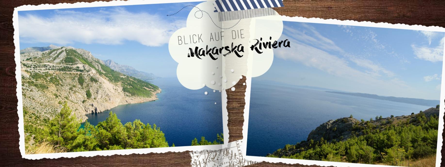 Hrvaška - Makarska - kliparti