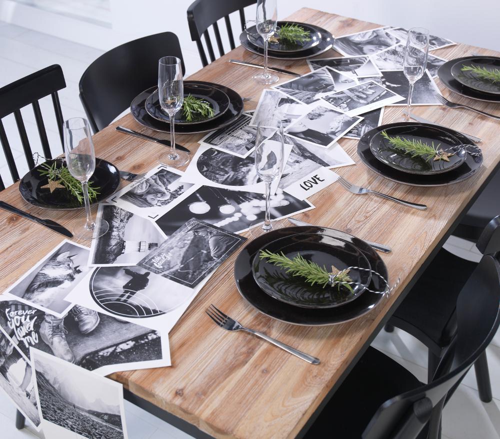 Foto kolaž na mizi